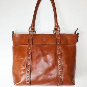 Patricia Nash Talloria Leather Tote NWT